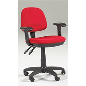 Martin Feng Shui Desk Height Seating Chair: Red