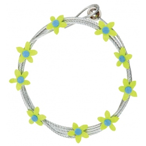 "Mishu Mighty Magnet Photo Cable Lime Flowers: Green, 57"", Flower, Cable, (model M086), price per each"