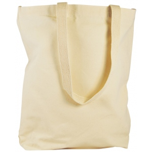 "Heritage Arts™ Natural Canvas Tote Bag Large: Brown, Canvas, Cotton, 4""d x 14""w x 15""h, Tote Bag"