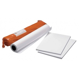 "Clearprint® 3020IJ 18"" x 24"" Bright White Opaque Bond Plotter Sheets: White/Ivory, Sheet, 100 Sheets, 18"" x 24"", 20 lb, (model CP33201522), price per each"