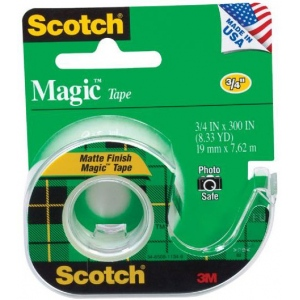 "Scotch® Magic™ 3/4"" x 300"" Tape: 3/4"" x 300"""
