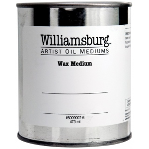 Williamsburg® Wax Medium 16 oz.: 16 oz, Wax, (model 6009007-6), price per each