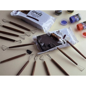 Heritage Arts™ Clay Tools 8-Piece Set: Steel Wire, 8-Pack, Clay Tool, (model 99AL-8), price per set