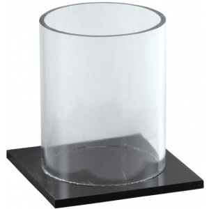 Generic Acrylic Display Cup with Base: Rack, (model RACK27), price per each