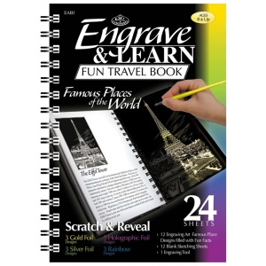 Royal & Langnickel® Engrave & Learn Fun Travel Book