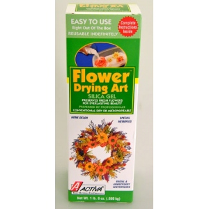 Canister Flower Art Silica Gel: 1.5 lb, Pack of 6