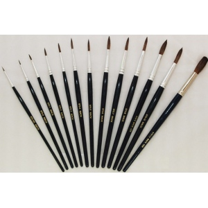 Mack Camel Hair Watercolor Brushes Series 970: Size-12