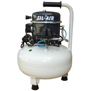 Silentaire Sil-Air 50-15 Silent Running Airbrush Compressor, Portable Air Compressor