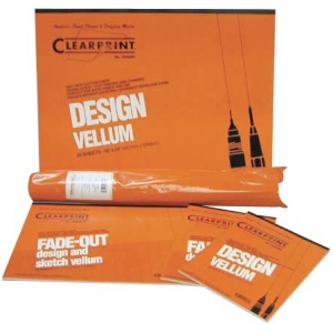 Clearprint® 1020 Series Vellum 100-Sheet Pack 8x8 Grid
