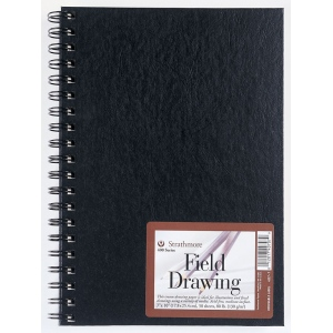 Strathmore® 400 Series Cream Wire Bound Field Drawing Book