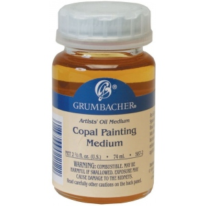 Grumbacher® Copal Painting Medium 74ml: Can, 2.5 oz, Alkyd