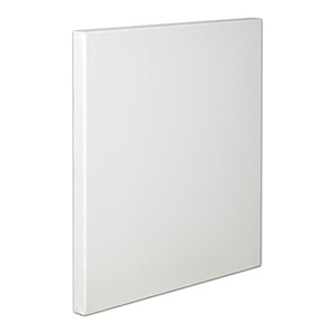 "Fredrix® Artist Series Blue Label 9"" x 12"" Blue Label Ultra Smooth Stretched Canvas: White/Ivory, Sheet, 9"" x 12"", 11/16"" x 1 9/16"", Stretched"