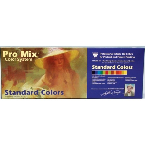 John Sanden Pro Mix Standard Color Oil Color Set: Set of 13 Color