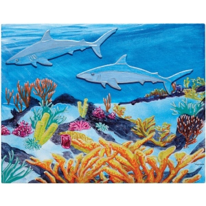 "Fredrix® Wyland® Sharks Reef Series: Panel/Board, 11"" x 14"", (model T2595), price per set"