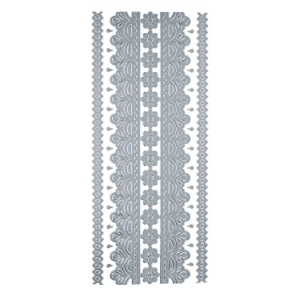 "Blue Hills Studio™ DesignLines™ Outline Stickers Silver #2: Metallic, 4"" x 9"", Outline, (model BHS-DL002), price per pack"