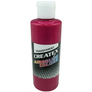 Createx™ Airbrush Paint 4oz Fuchsia: Red/Pink, Bottle, 4 oz, Airbrush, (model 5122-04), price per each