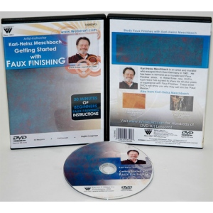 Karl-Heinz Meschbach's Getting Started In Faux, Finishing Oil Painting, DVD: (1 Hour)
