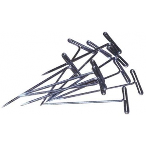 "T-Pin: 1 3/4"", Pack of 40"
