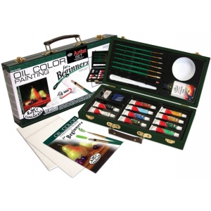 Royal & Langnickel® Oil Color Painting for Beginners Set: Multi, Oil, (model RSET-OIL3000), price per set