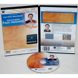 Karl-Heinz Meschbach's Intermediate Studies Of Faux Finishing Oil Painting, DVD: (1 Hour)