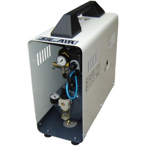 Silentaire Sil-Air 50-9-D Silent Running Airbrush Compressor, Portable Air Compressor