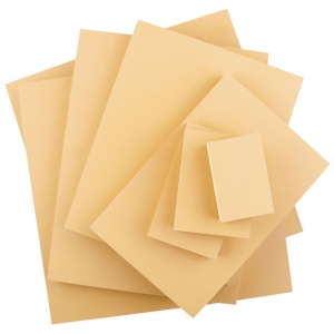 Speedball® Smokey Tan Linoleum Blocks: Brown, Mounted