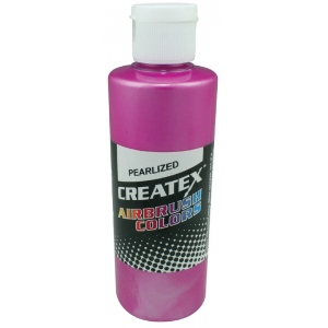 Createx™ Airbrush Paint 2oz Pearlescent Magenta: Red/Pink, Bottle, 2 oz, Airbrush, (model 5302-02), price per each