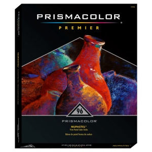 Prismacolor® NuPastel® 96-Color Set: Multi, Stick, Drawing, (model 27055), price per set