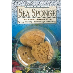 Hydra® Natural Sea Sponge: Natural, Sponge, (model SS23), price per pack