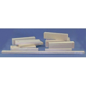 "Alvin® Balsa Wood Block 1 1/2 x 3: Block, 1 1/2"" - 3"", 12"", (model BS1734), price per each"