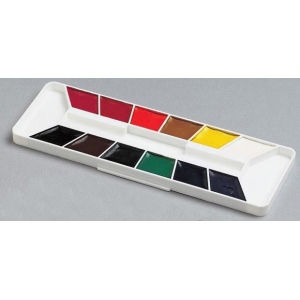 Yarka® 12-Color Watercolor Paint Set: Multi, Pan, Watercolor, (model YK38011), price per set
