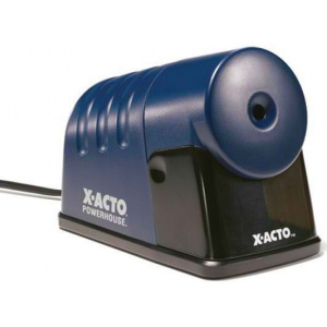X-Acto® PowerHouse® Heavy-Duty Commercial Grade Electric Pencil Sharpener Blue: Blue, One, Plastic, Electric, (model 1792), price per each