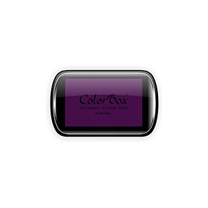 ColorBox® Full Size Ink Pad Eggplant: Brown, Pad, Pigment, Full Size Rectangle, (model CS15069), price per each