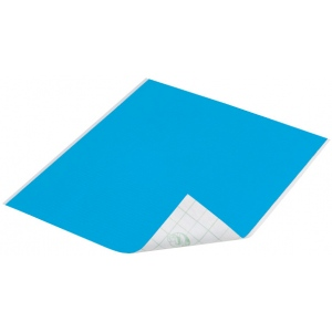 "Duck Tape® Aqua Tape (Sheet): Blue, Sheet, 8 1/4"" x 10"", Color, (model DT280086), price per sheet"