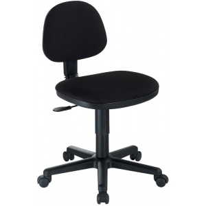 Alvin Black Comfort Economy Office Height Task Chair