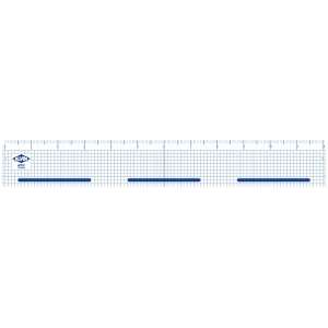 "Alvin® 20"" Cutting Edge Ruler: Clear, Plastic, 20"", Ruler, (model ACR20), price per each"