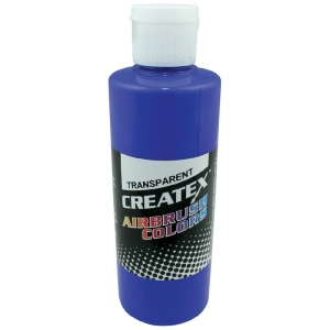 Createx™ Airbrush Paint 4oz Ultramarine Blue: Blue, Bottle, 4 oz, Airbrush