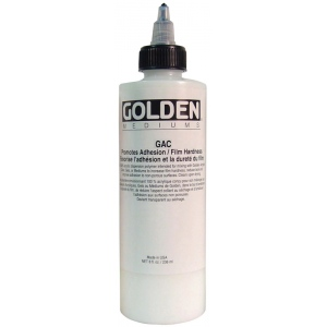 Golden® GAC 400 Acrylic Series Medium 8 oz.: 236 ml, 8 oz, Acrylic Painting, (model 0003940-5), price per each