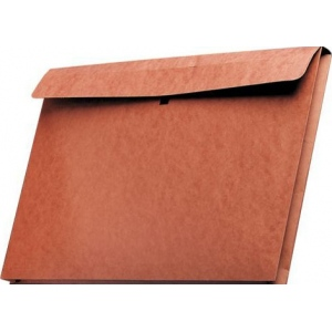 "Star® 14"" x 20"" Expanding Wallet: Red/Pink, Fiberboard, 14"" x 20"""