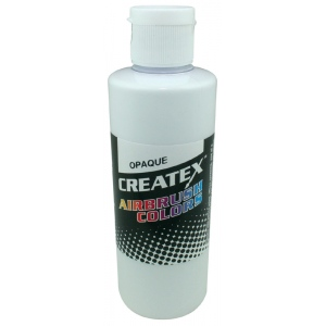 Createx™ Airbrush Paint 2oz Opaque White: White/Ivory, Bottle, 2 oz, Airbrush, (model 5212-02), price per each
