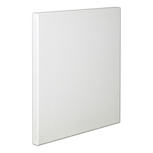 "Fredrix® Artist Series Red Label 8"" x 16"" Stretched Canvas: White/Ivory, Sheet, 8"" x 16"", 11/16"" x 1 9/16"", Stretched"