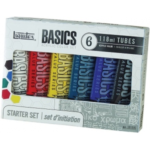 Liquitex® Basics Acrylic 6-Color Set