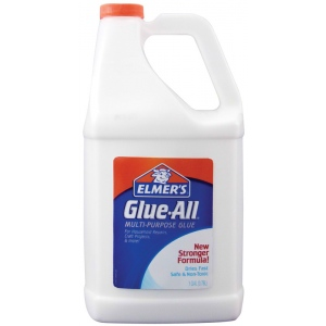 Elmer's® Glue-All® Multi-Purpose Liquid Glue 1 gal: Bottle, 1 gal, All Purpose, (model E1326), price per each