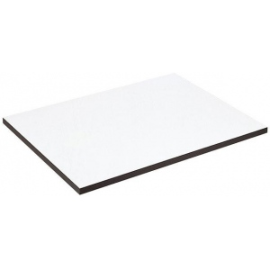 "Alvin® XB Series Drawing Board / Tabletop 20"" x 26"": White/Ivory, Melamine, 20"" x 26"""