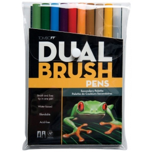 Tombow® Dual Brush® 10-Color Set