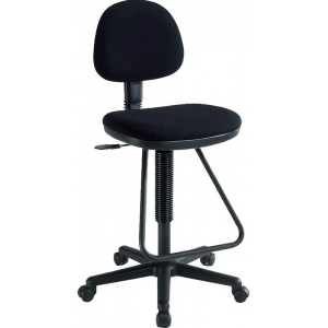 Alvin Viceroy Artist/Drafting Black Chair