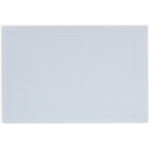 "Dahle Vantage Self Healing Cutting Mat: Crystal Clear, 18"" x 24"" Cut Size"