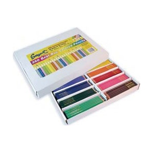 Sargent Art® Colored Pencil 250 set: Multi, Pencil, (model 227200), price per box