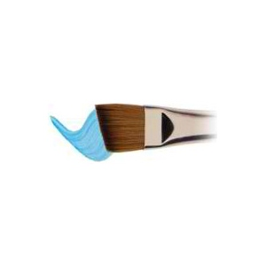 "Winsor & Newton™ Cotman™ Series 667 Angle Short Handle Brush 3/8"": Short Handle, Synthetic, Angular, Watercolor, (model WN5367110), price per each"