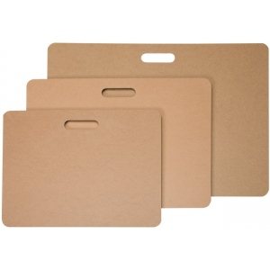 "Heritage Arts™ Masonite Drawing Board 17"" x 22"": Brown, 17"" x 22"", Masonite, Drawing Board, (model SPM17), price per each"